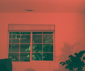 red, room, and window image