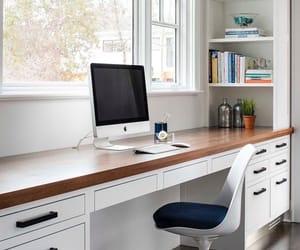 apple, books, and desk image