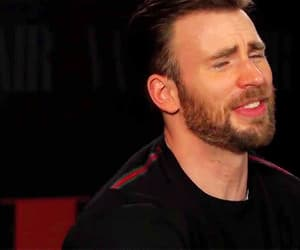 chris evans, gif, and funny face image