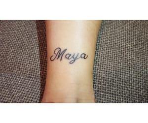 maya, name, and tattoo image