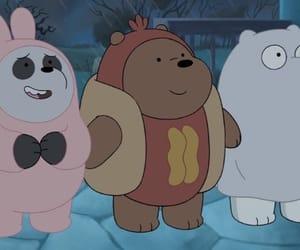 bear, cartoon network, and ice bear image