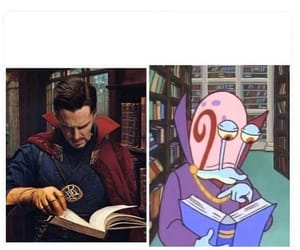 gary the snail, Marvel, and doctor strange image