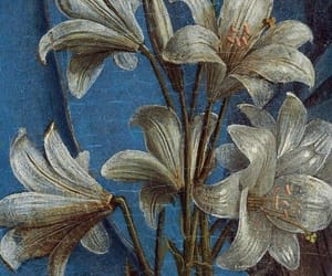 blue, detail, and painting image
