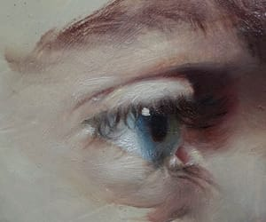 detail, eye, and oil image