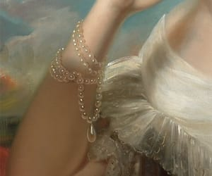 clothing, detail, and oil image