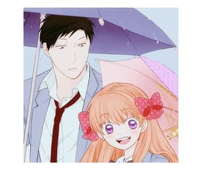 anime, anime couple, and anime manga image