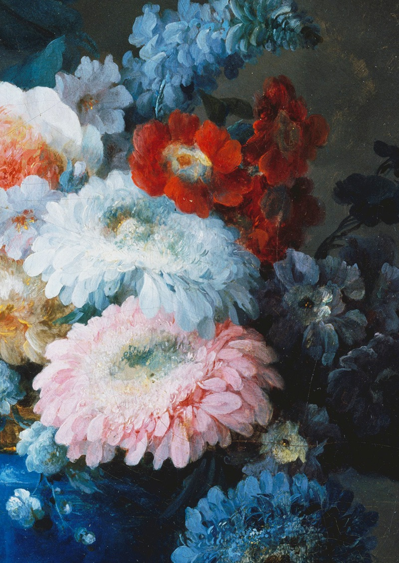 detail, flowers, and oil image