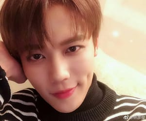 idol producer, lin yanjun, and nine percent image