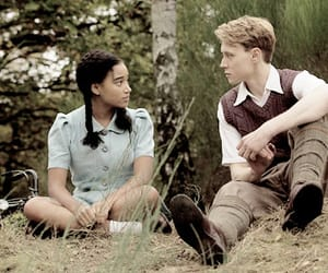 george mackay and amandla stenberg image