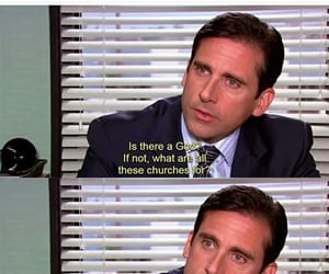 dwight, funny, and jesus image