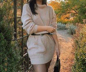 autumn, dress, and fall image