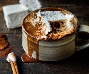 cozy, hot cocoa, and marshmallows image