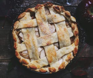 caramel apple pie image