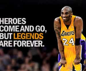 legend, lakers, and 24 image