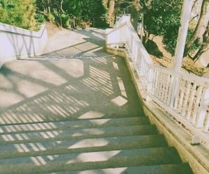 shade, stairs, and sunlight image
