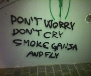 ganja, smoke, and weed image
