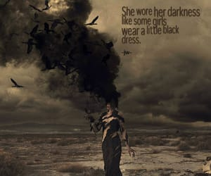 Darkness and quote image