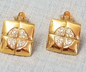 earrings, designer jewelry, and etsy image