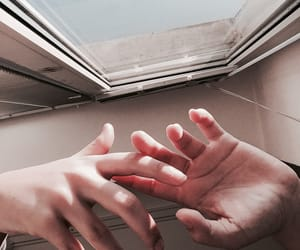 hands, tumblr, and love image