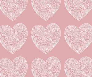 background, drawings, and heart image