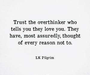love, trust, and quotes image