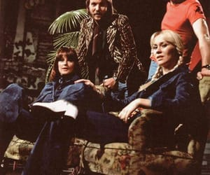 Abba, sofa, and benny andersson image