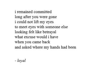 girl, poetry, and loyal image