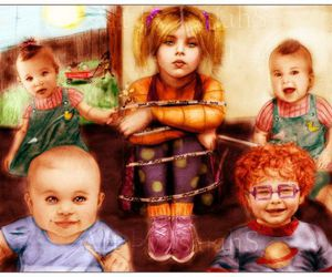 rugrats, angelica, and kids image