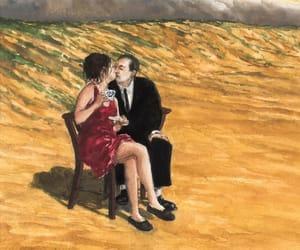 australian artist, tea time, and kissing couple image
