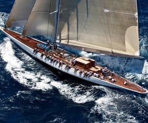 ocean, sailing, and regatta image