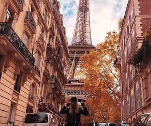autumn, eiffeltower, and fashion image