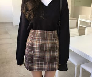 fashion, black, and skirt image