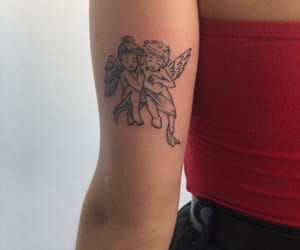 tattoo and angel image