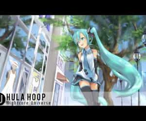 anime, hula hoop, and video image