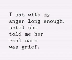 anger, sadness, and grief image