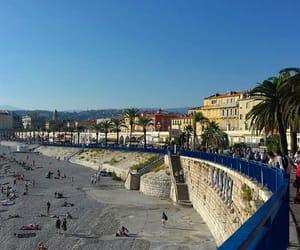 blue, city, and sea image