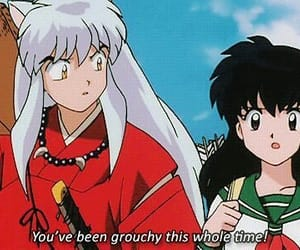 anime, inuyasha, and comic image
