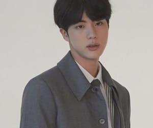jin, korean, and model fashion image