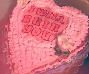 cake, grunge, and pink image