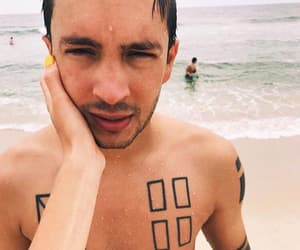 twenty one pilots, cute, and tyler joseph image