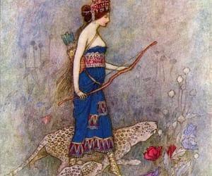 illustration, warwick goble, and zenobia image