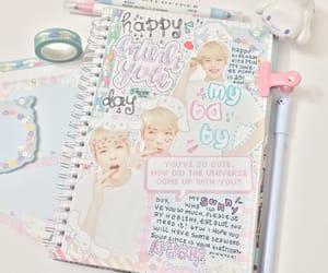 exo, journal, and sanrio image