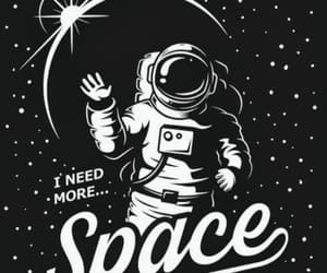 space, astronaut, and quotes image