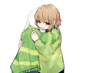 chara, asriel, and cute image