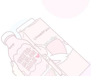 aesthetic, anime, and baby pink image
