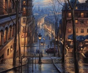 paris, travel, and art image