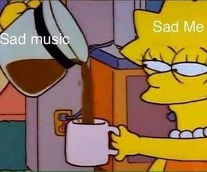 mood, sad, and simpsons image