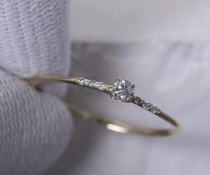 diamond, ring, and love image