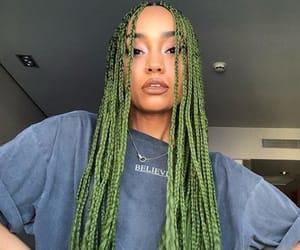 beautifull, beauty, and braids image