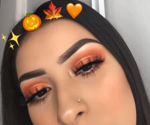 eyeshadow, fall, and makeup image